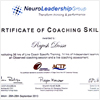 Certificate of Coaching Skills